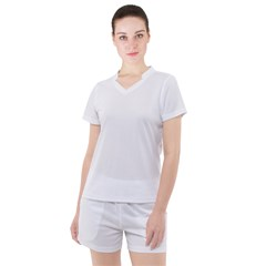 Women s Mesh Tee and Shorts Set Icon