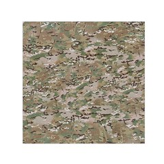 Camo Woodland Faded Small Satin Scarf (square)  by trendistuff