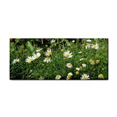 Wild Daisy Summer Flowers Hand Towel