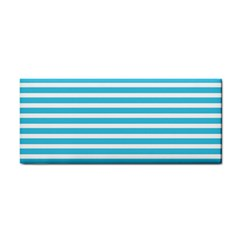 Horizontal Stripes Blue Cosmetic Storage Cases