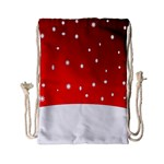 Christmas Background  Drawstring Bag (Small) Front
