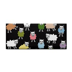 Sheep Cartoon Colorful Cosmetic Storage Cases