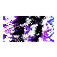 Canvas Acrylic Digital Design Satin Wrap by Simbadda