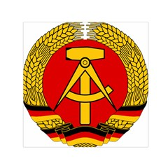 National Emblem Of East Germany  Small Satin Scarf (square) by abbeyz71