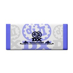 Iidx Blue Hand Towel by concon