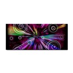 Fractal Circles Abstract Hand Towel Front