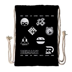 Bemani Games Drawstring Bag (large) by concon