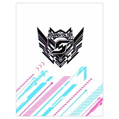 Sdvx White Drawstring Bag (large) by concon