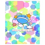 Pop n Music Drawstring Bag  Back